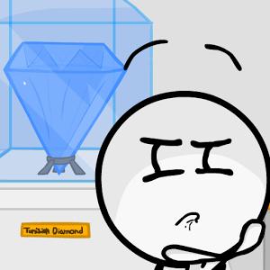 火柴人偷钻石
